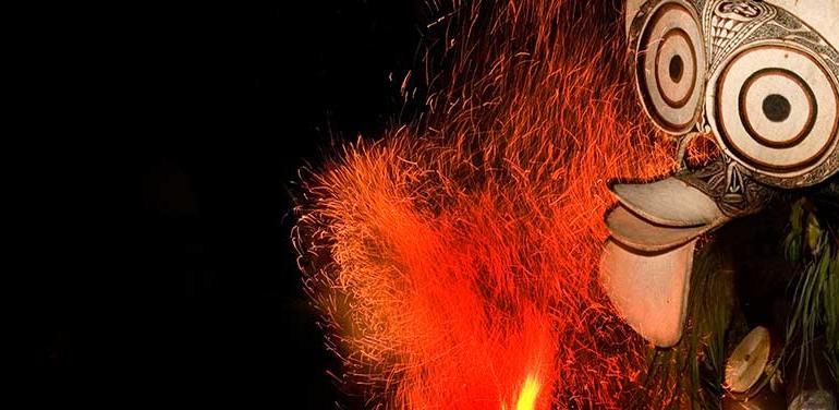 Papua New Guinea National Mask Festival tour