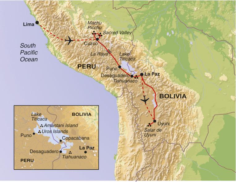 Cultural Culture Peru & Bolivia Explorer package