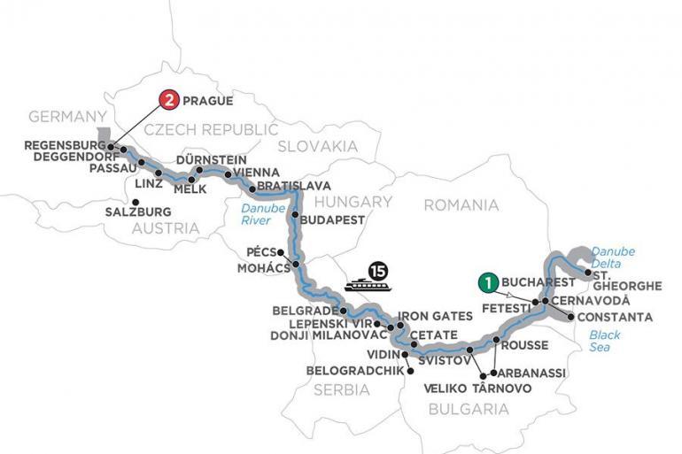 Belgrade Belogradchik From the Danube Delta to Prague Trip