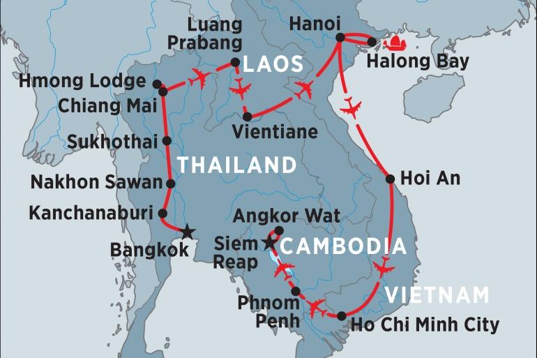 Hanoi Ho Chi Minh Indochina Explorer Trip