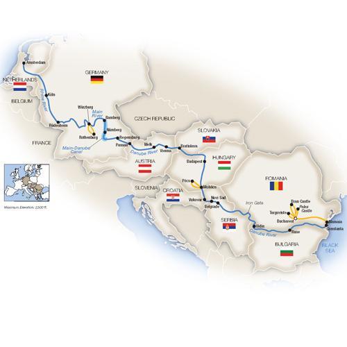 Grand European Cruise - Westbound 2019 tour