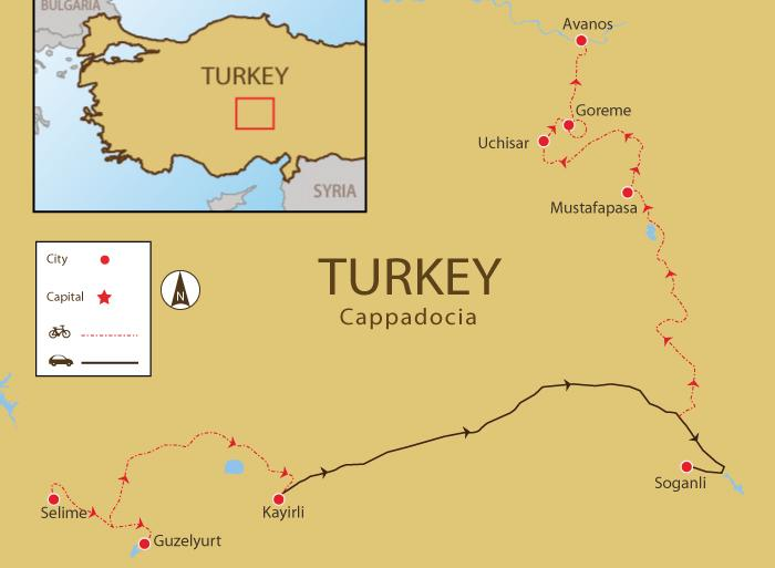 Cycling Cycling Cappadocia Trails package