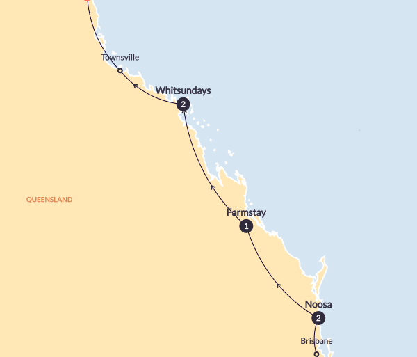 Cairns Great Barrier Reef The Sun Seeker (Start Surfers Paradise - Until Mar 2019) Trip