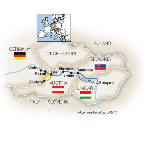 Blue Danube: Family Riverboat Adventure - Westbound 2019 tour