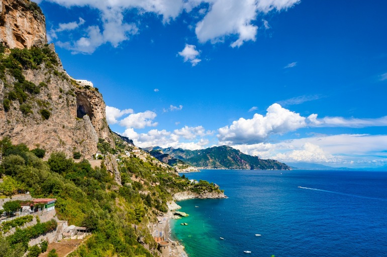 Amazing view of Amalfi_Italy