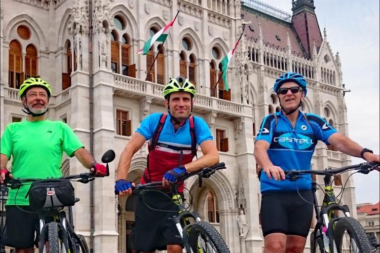 Bratislava Budapest Cycle the Danube Trip