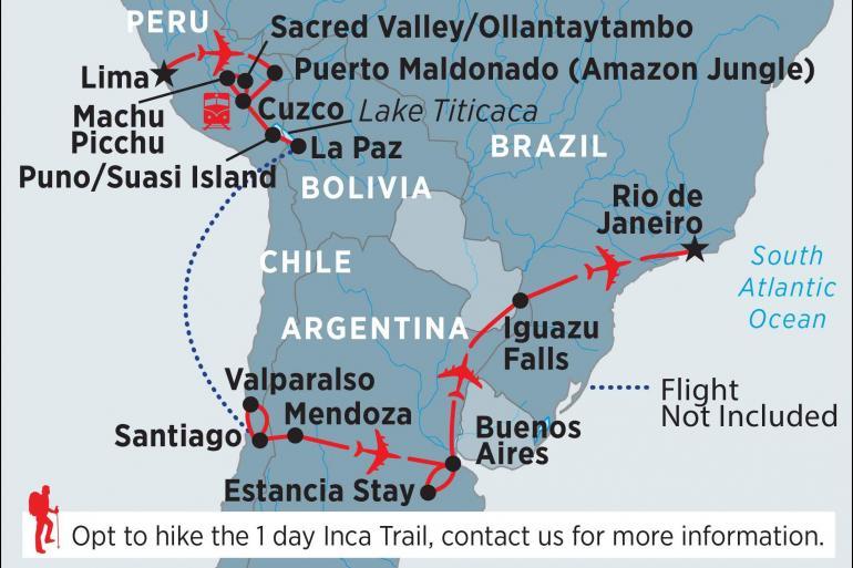 Iguazu Falls La Paz Rhythms of South America Trip