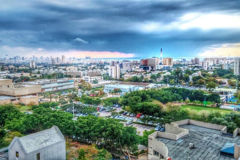 Tel Aviv city view, Israel