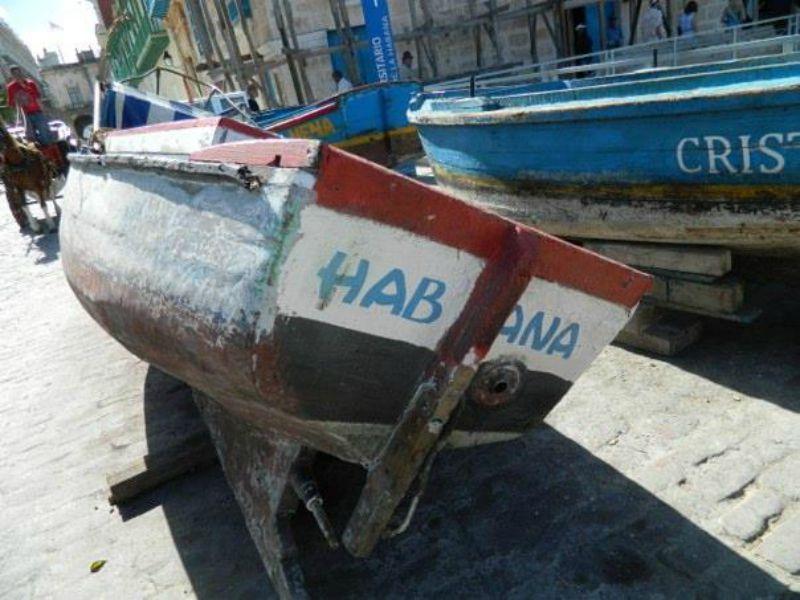 Boat in Cuba