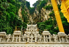 Statues at Batu in Malaysia, top tour attraction