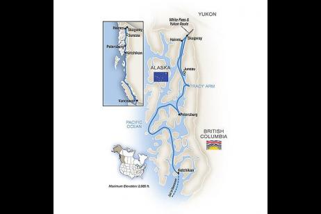 Alaska's Inside Passage - Southbound tour