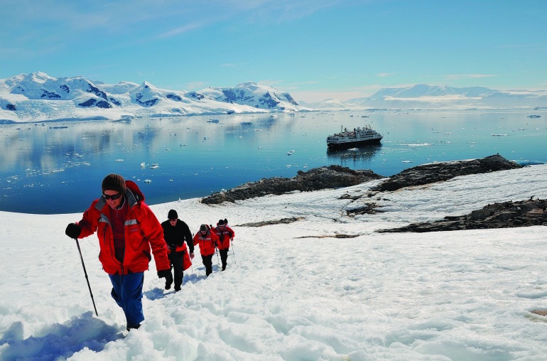 Antarctica Hiking Expedition
