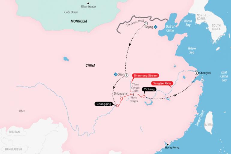 Beijing Shanghai Highlights of China & the Yangtze Trip
