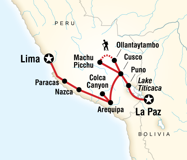 Arequipa Cusco Andean Discovery (Southbound) Trip