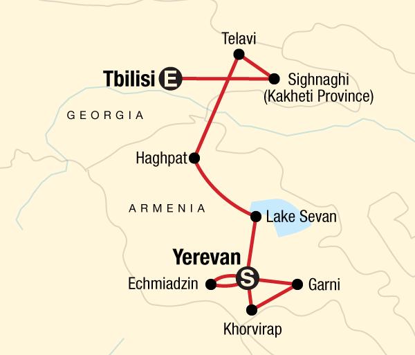 Georgia Tbilisi Best of Georgia & Armenia Trip