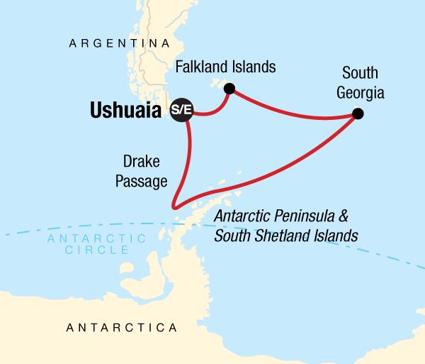 Antarctic Peninsula Georgia Spirit of Shackleton Trip
