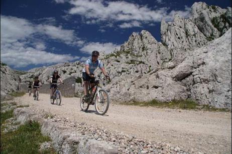 Mountain Biking in Croatia tour