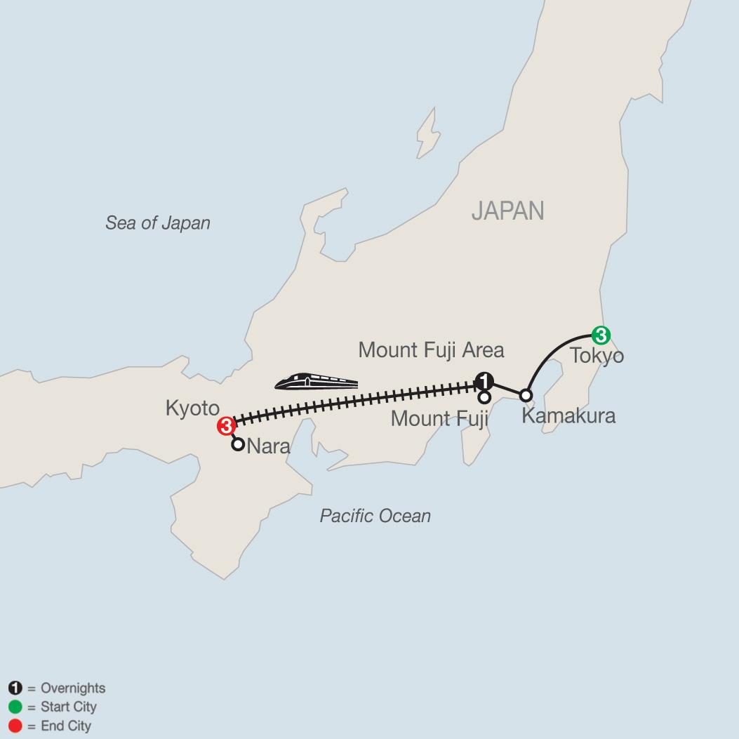 Kyoto Mount Fuji Classic Japan: The Golden Route Trip