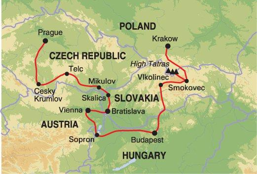 Bratislava Budapest Highlights of Central Europe Trip