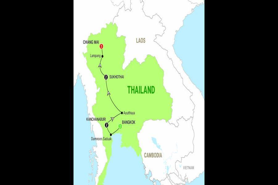 Bangkok Chiang Mai Treasures of Thailand - 2017 Trip