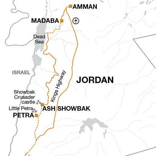 Petra Wadi Rum Cycle Jordan Trip