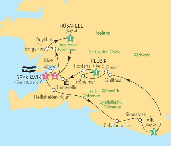 Cultural Culture Scenic Iceland & the Northern Lights (Winter 2017-18) package