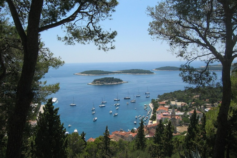 Beautiful Hvar Island, Croatia