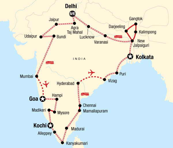 Agra Agra Fort Ultimate India by Rail Trip
