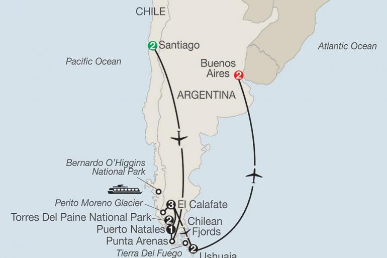 Buenos Aires El Calafate Patagonia: Journey to the End of the World Trip