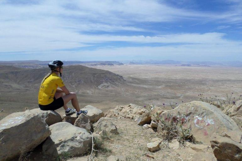 Amman Dead Sea Cycle Jordan Trip
