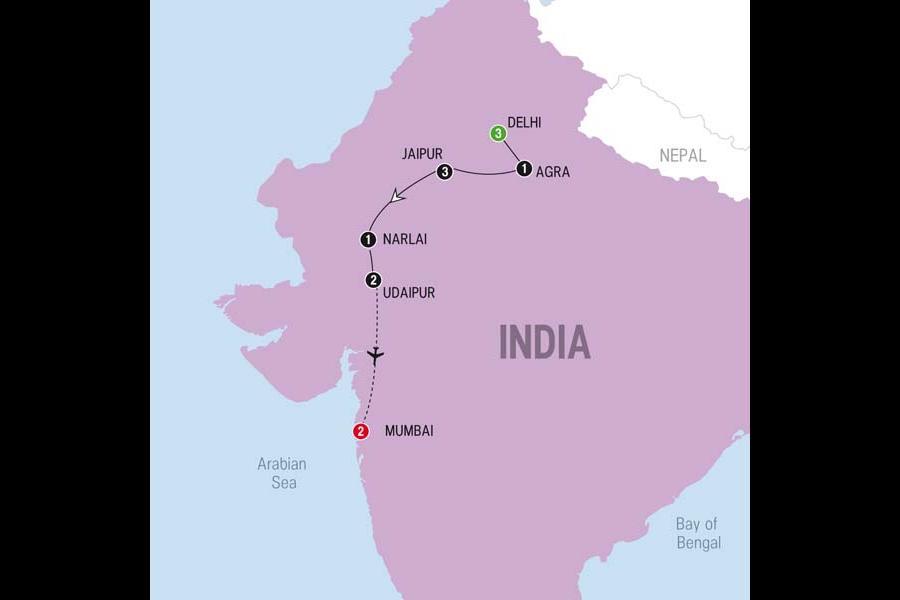 Agra Agra Fort Leisurely Rajasthan with Mumbai - 2017 Trip