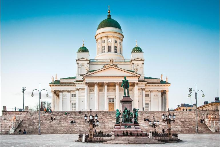 Bergen Berlin Oslo to Vilnius Trip