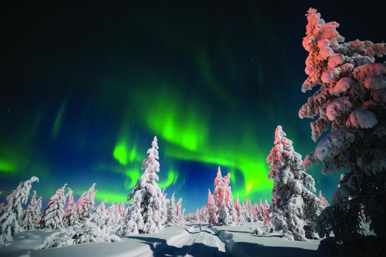 The Northern Lights of Finland  tour