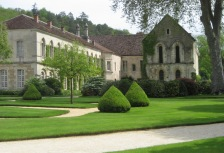 Fontenay Abbey in Burgundy, top France travel experience