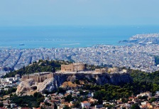 Ancient ruins in Athens, Greece
