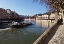 Saone River cruise in Lyon France