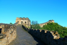 Touring the Great Wall of China