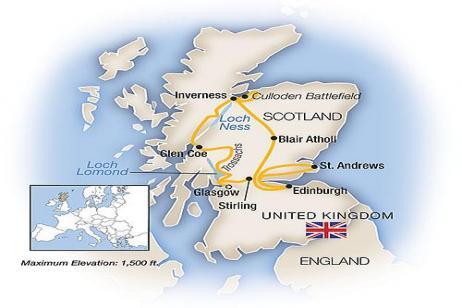 A Week In... Scotland 2018 tour