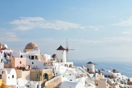 Athens to Santorini tour