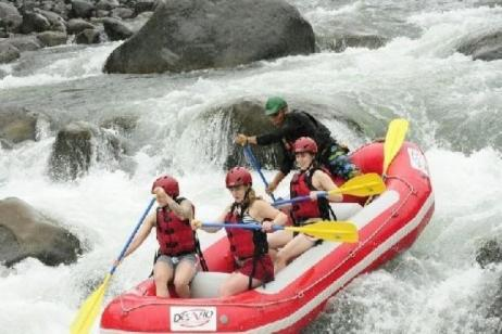 Overnight Rafting & Rainforest In Arenal tour