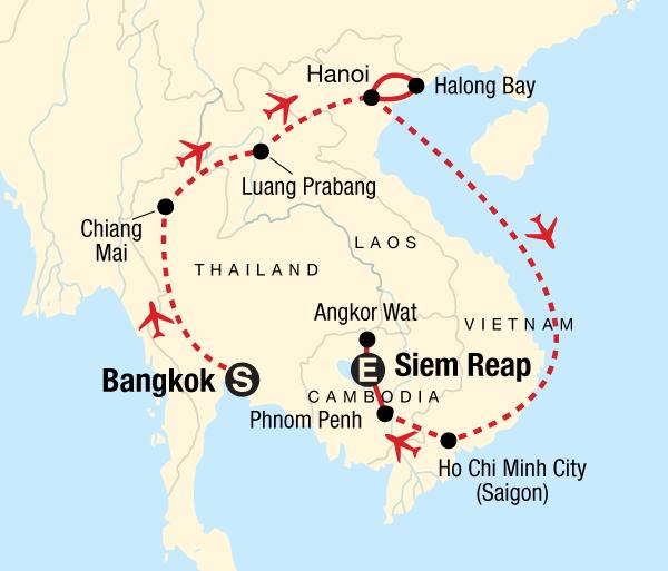Angkor Wat Bangkok Discover Southeast Asia Trip