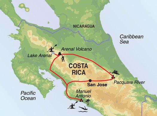 Cultural Culture Active Costa Rica  package
