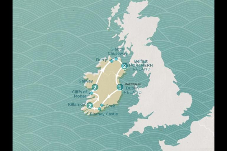 Belfast Cork Irish Shenanigans Trip