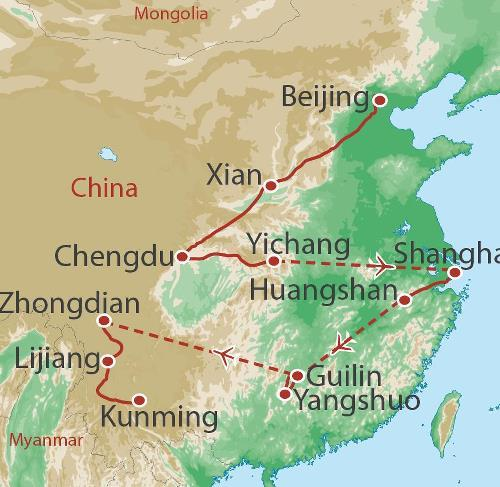 Dali Kunming China Encompassed Trip