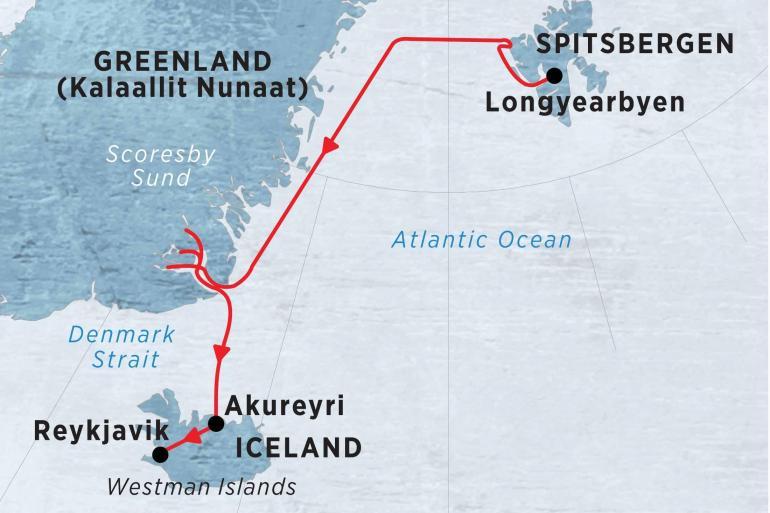 Nature & Wildlife Wildlife viewing Spitsbergen, East Greenland & Iceland package