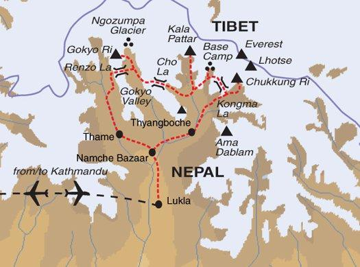 Adventure Adventure & Adrenaline High Passes to Everest Base Camp package