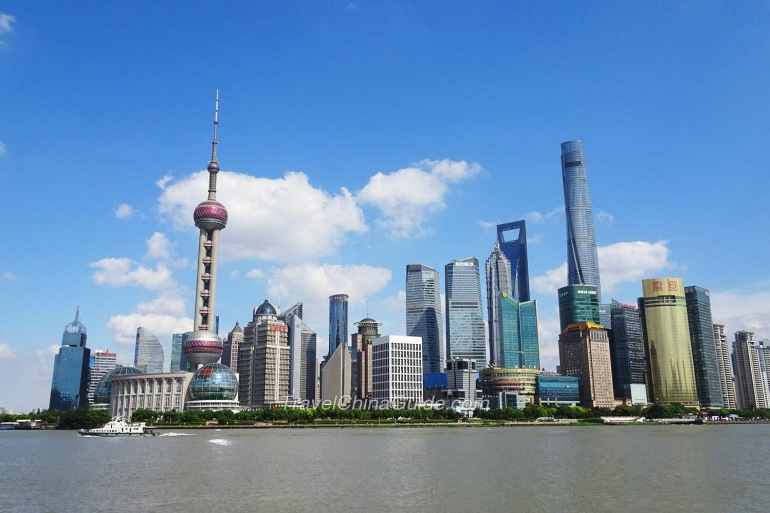 Cityscape View of Shanghai, China