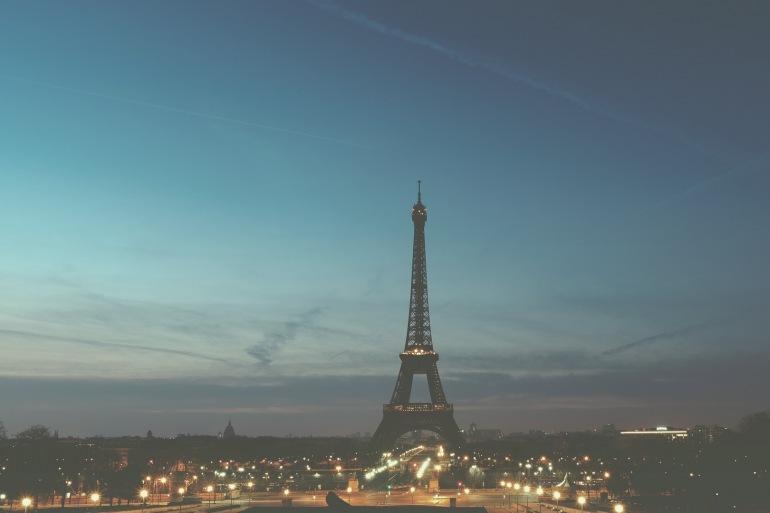 Night view of Eiffel tower-Paris-1245970-1920-P