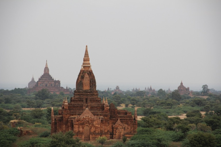 Pagoda bagan Myanmar temple Burma-1029324_P