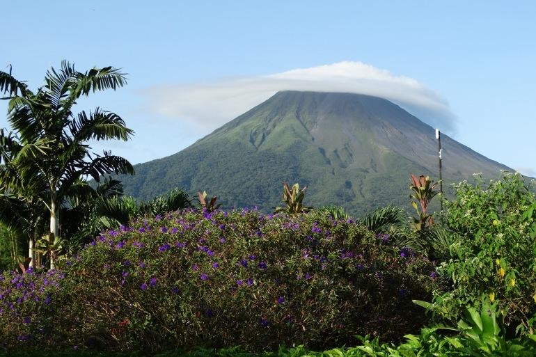 Stratovolcano in Costa Rica_P